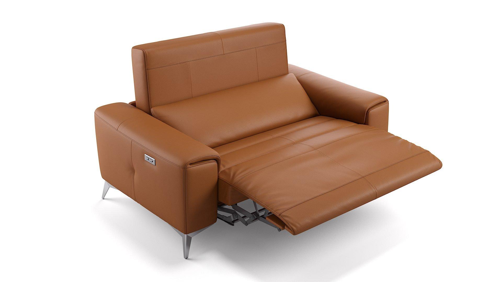 Leder 2-Sitzer Sofa Mini BELLA