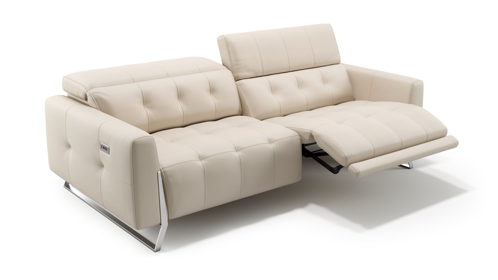 Leder 3-Sitzer Sofa CANEVA
