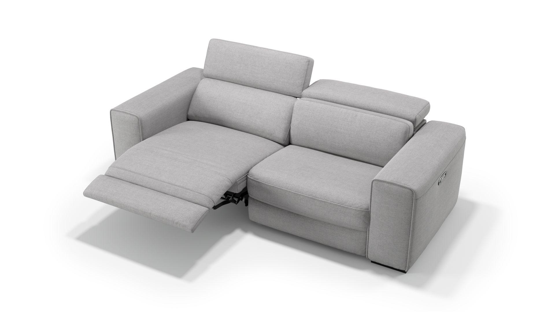 Stoff 3-Sitzer Sofa BOVINO