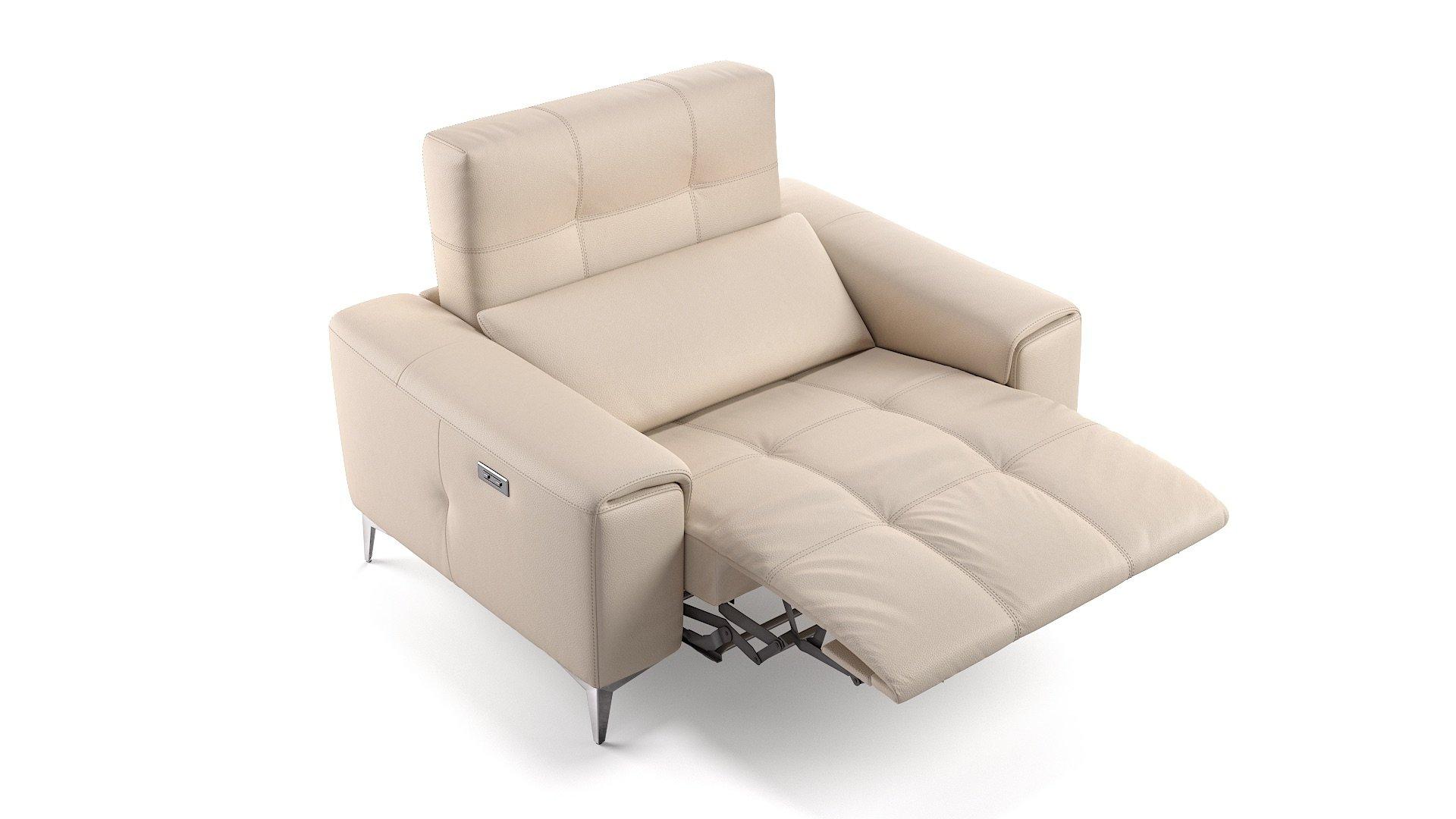 Leder 2-Sitzer Sofa Mini SALENTO