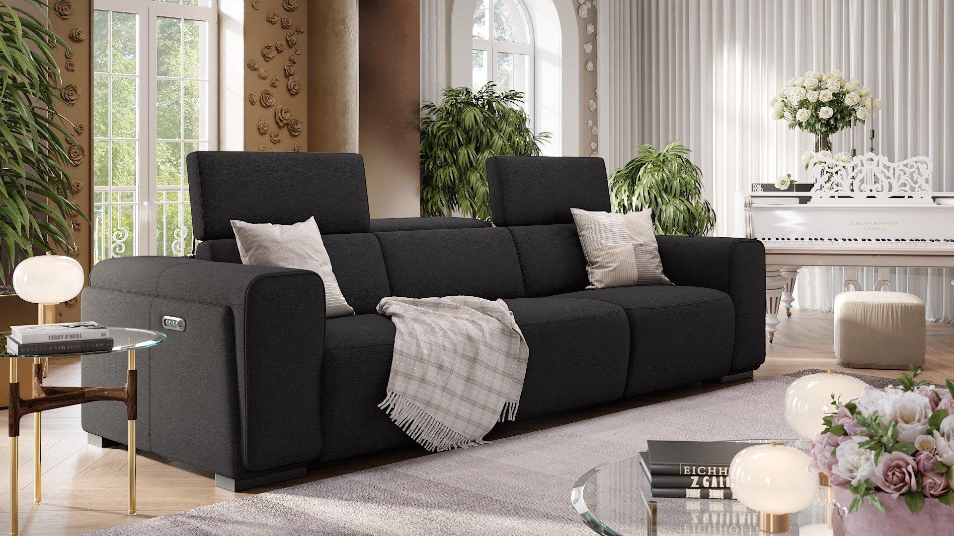 Stoff 3-Sitzer Sofa XXL IMPERIA