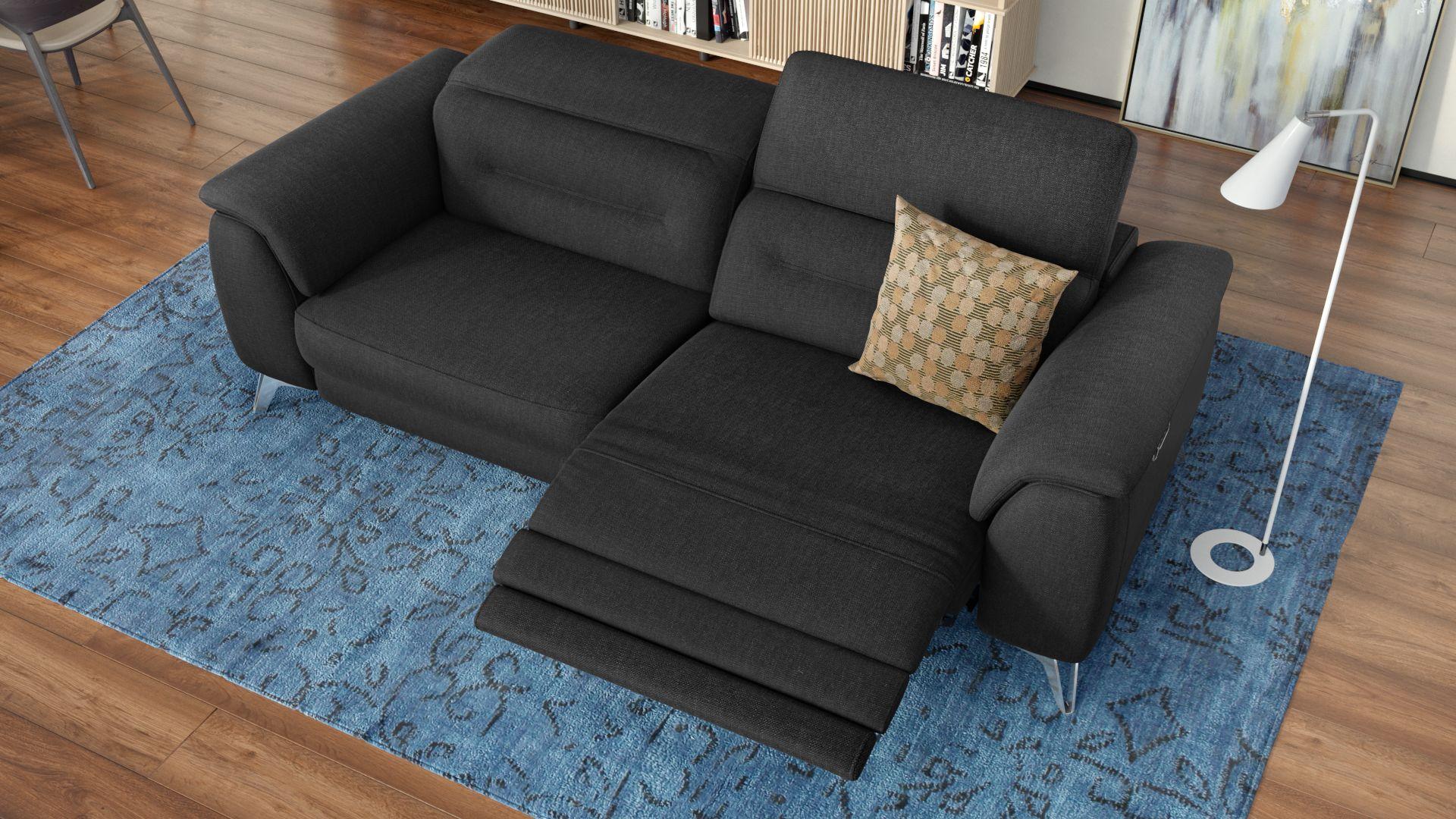 Stoff 3-Sitzer Sofa GANDINO