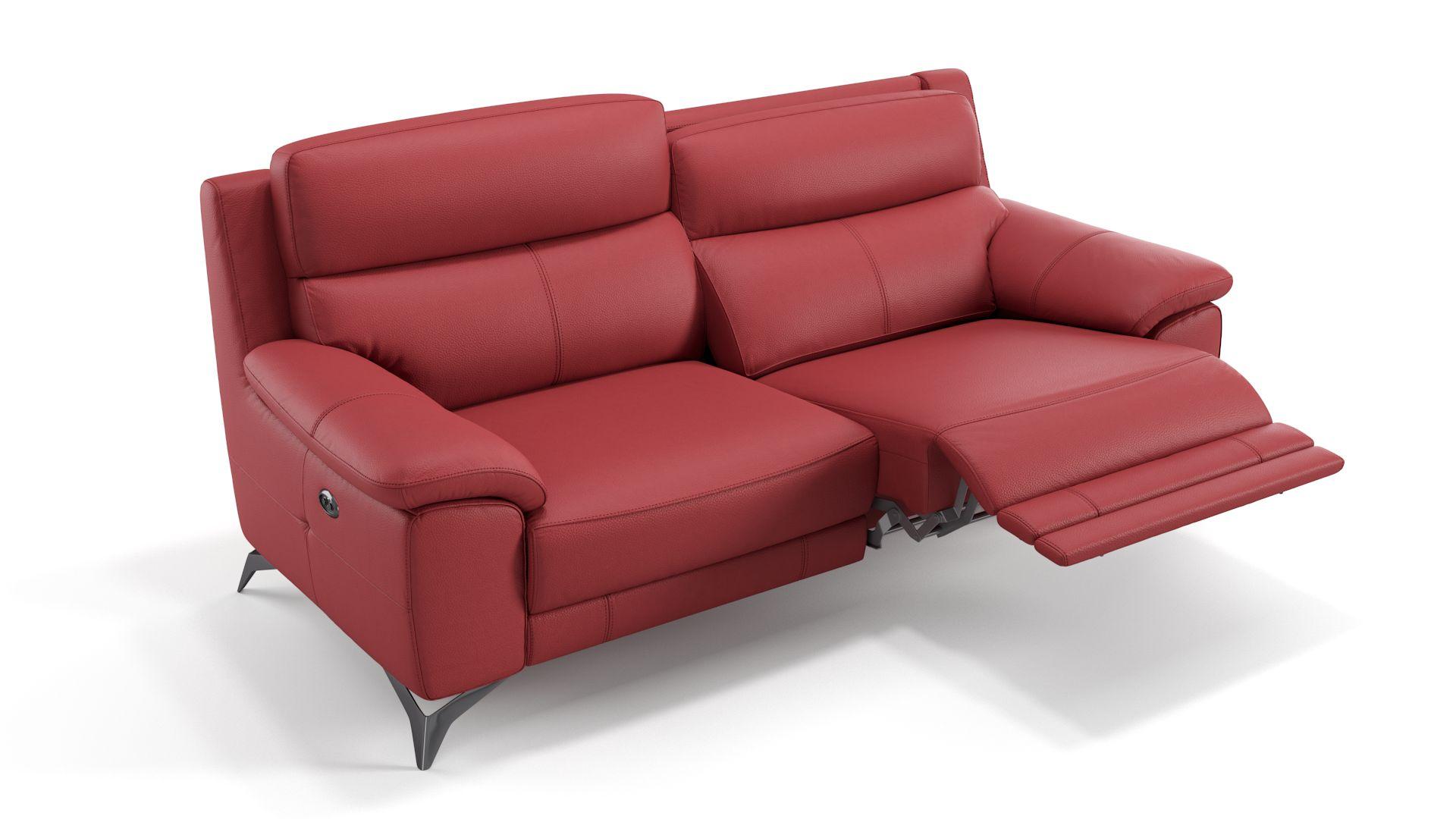 Leder 3-Sitzer Sofa LANTELLA