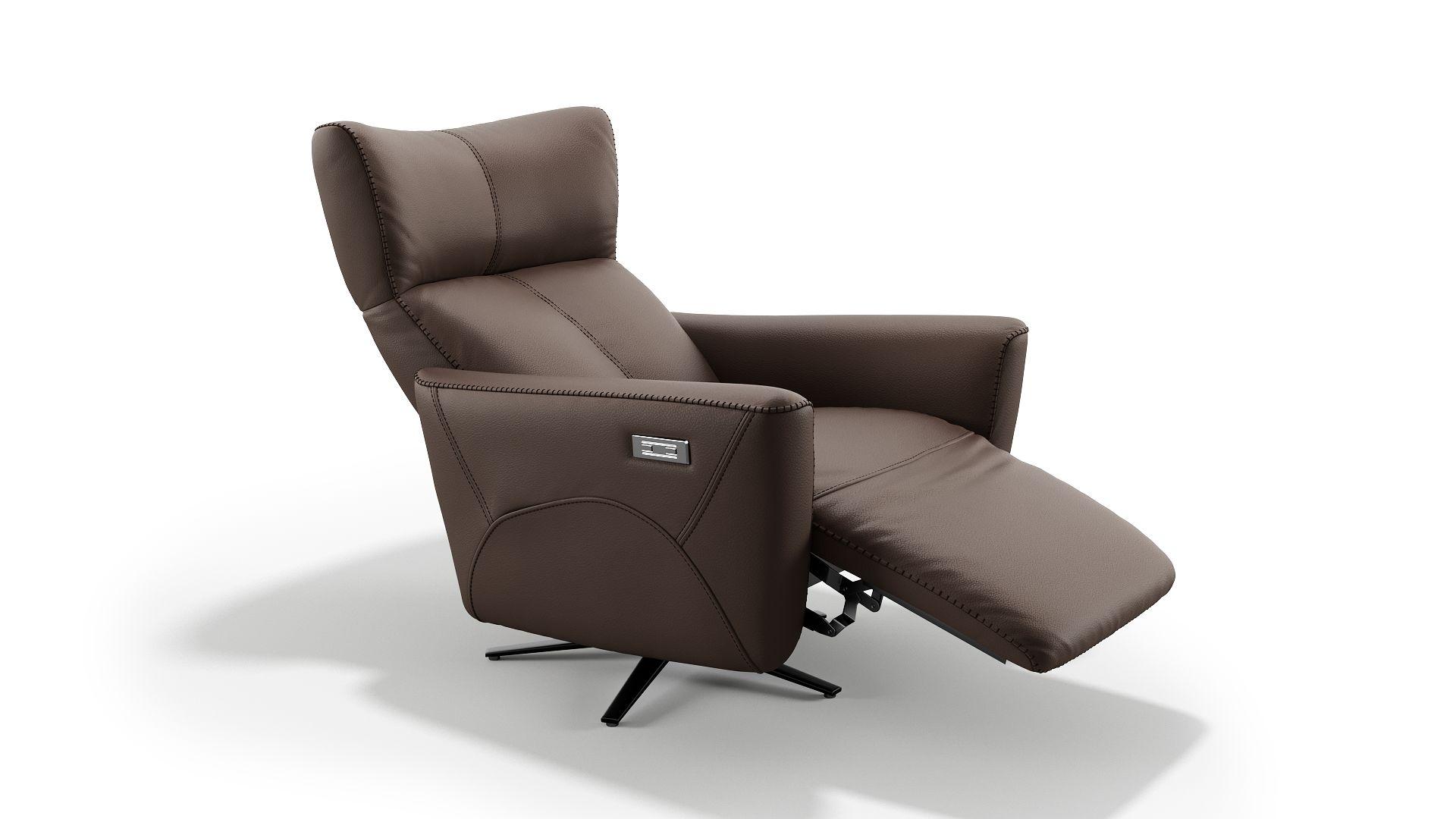 Leder Relaxsessel ORNICA