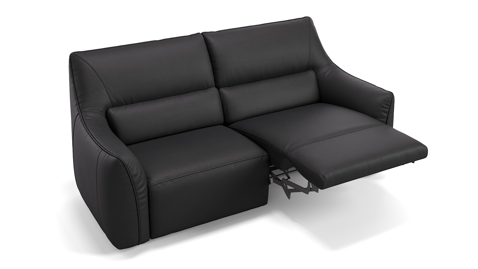 Leder 2-Sitzer PESARO