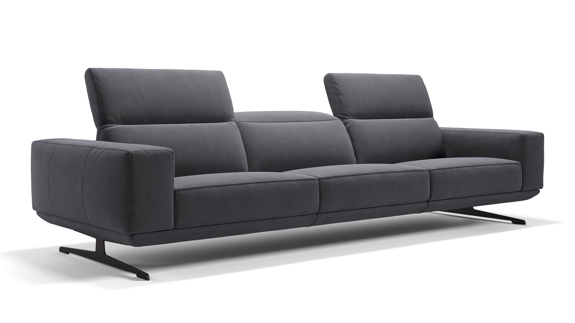 Stoff 3-Sitzer Sofa XXL MERANO
