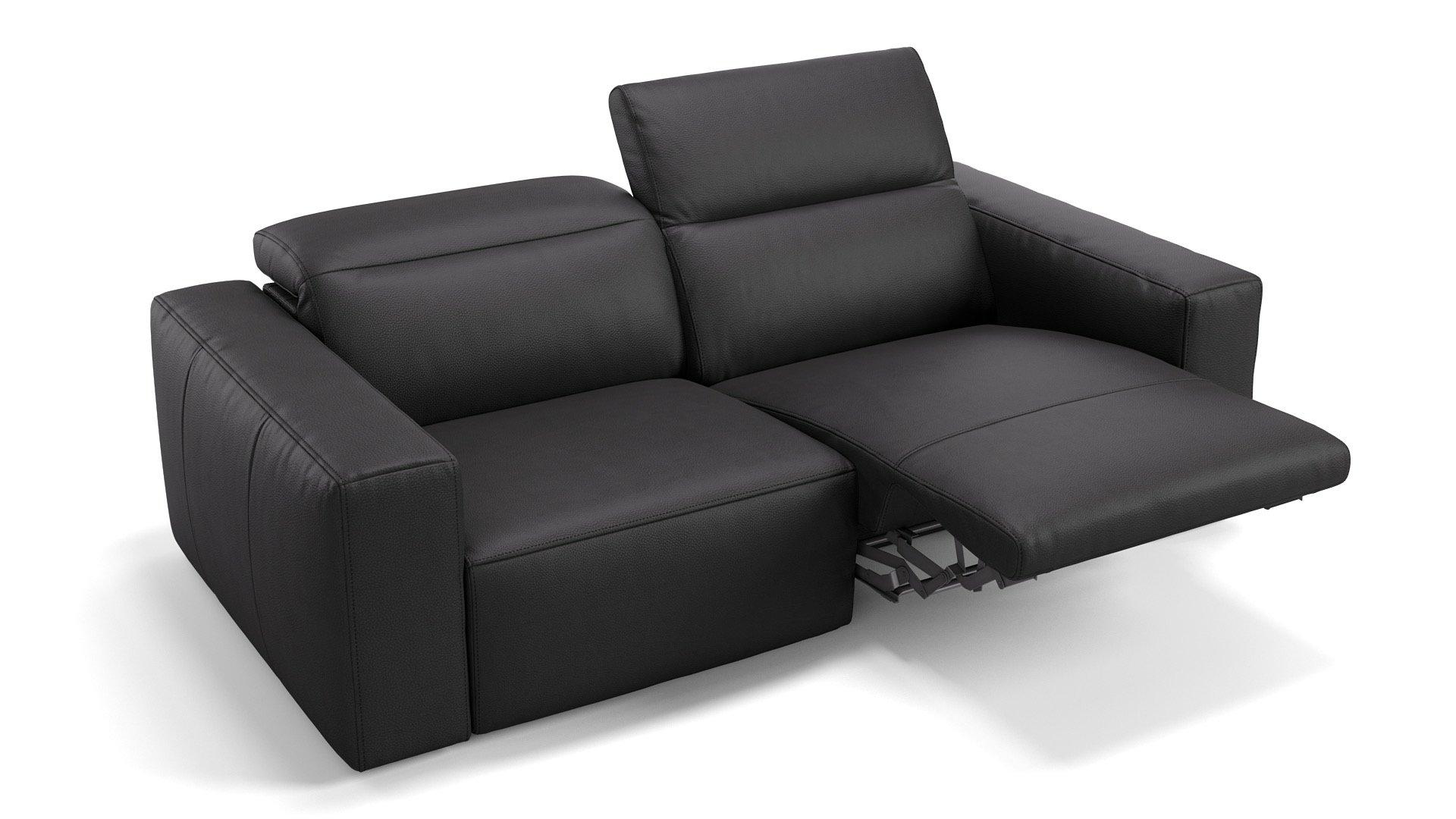 Leder 2-Sitzer LENOLA