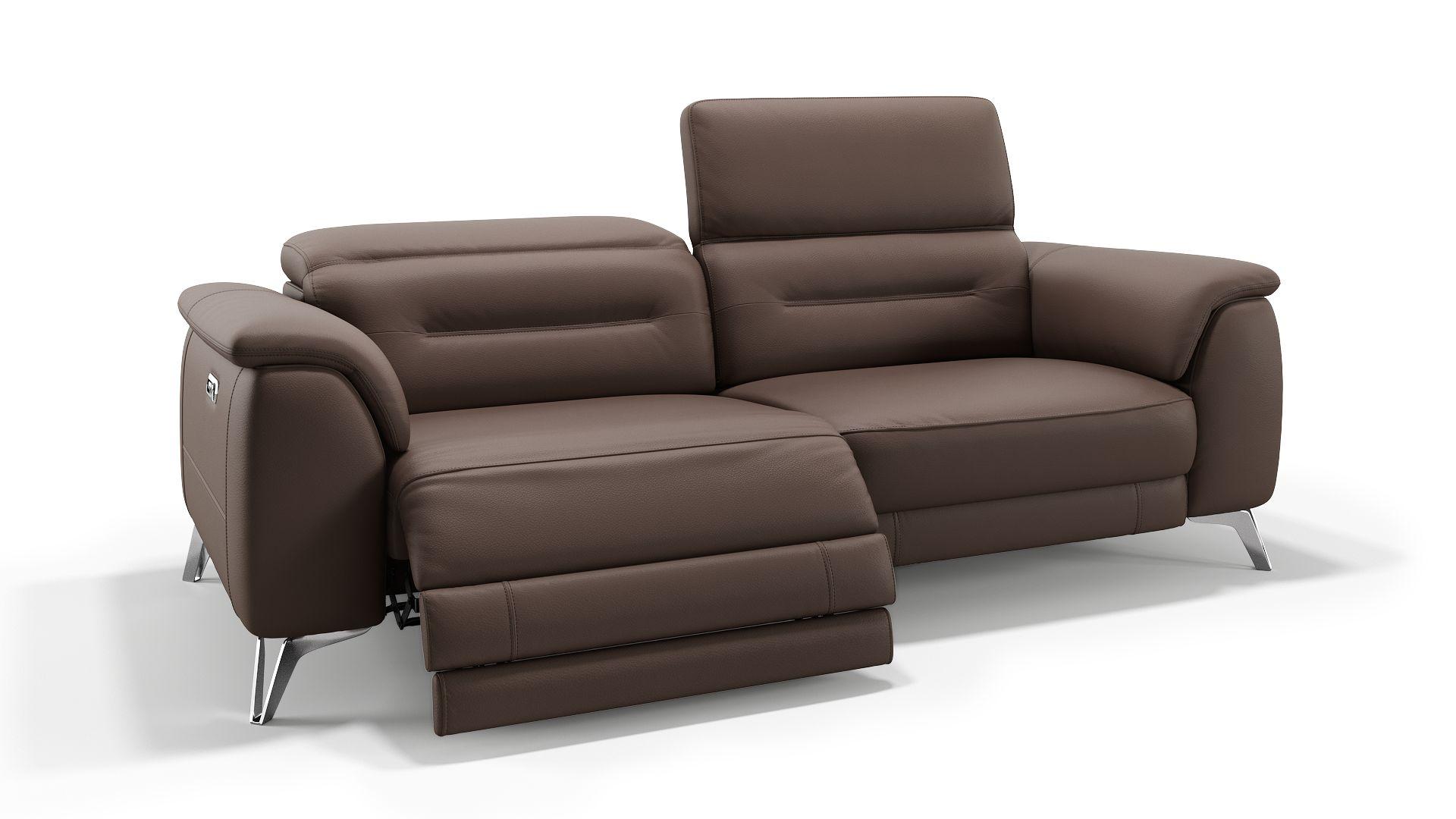 Leder 3-Sitzer Sofa GANDINO