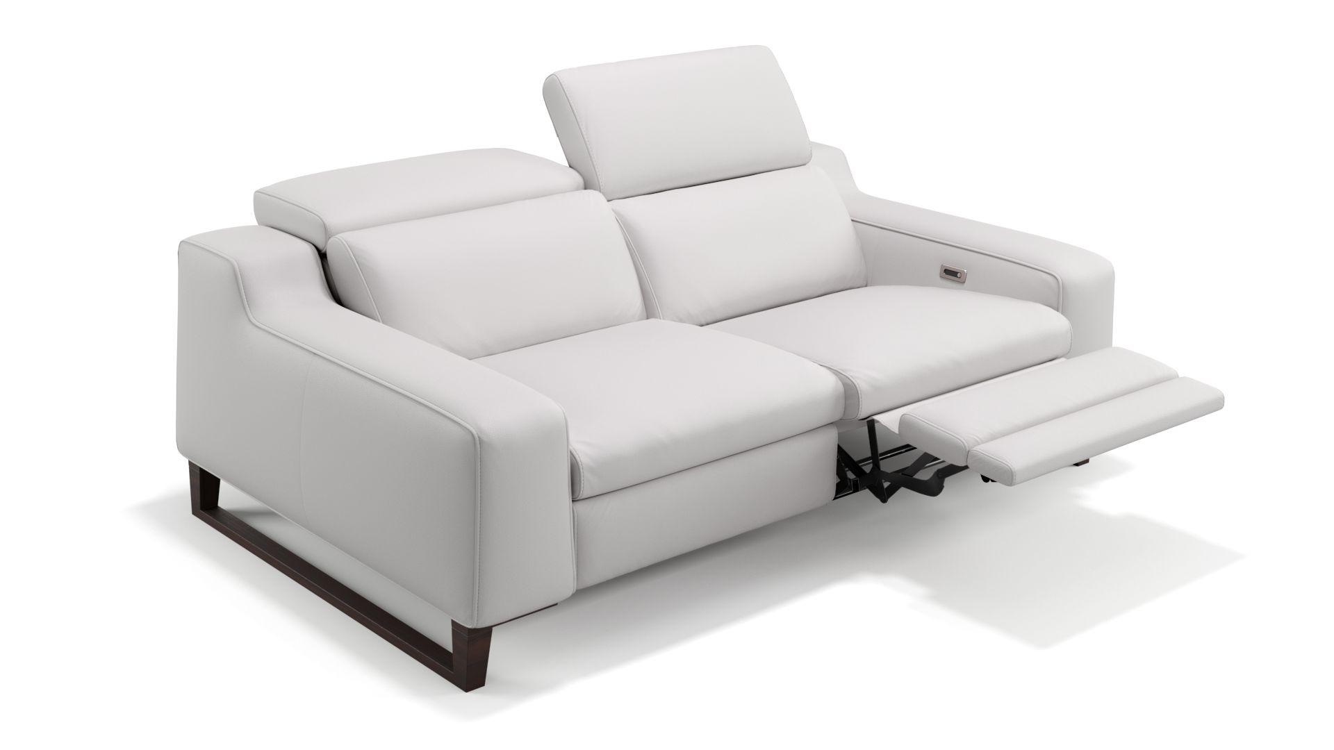 Leder 2-Sitzer Sofa ANDRIA