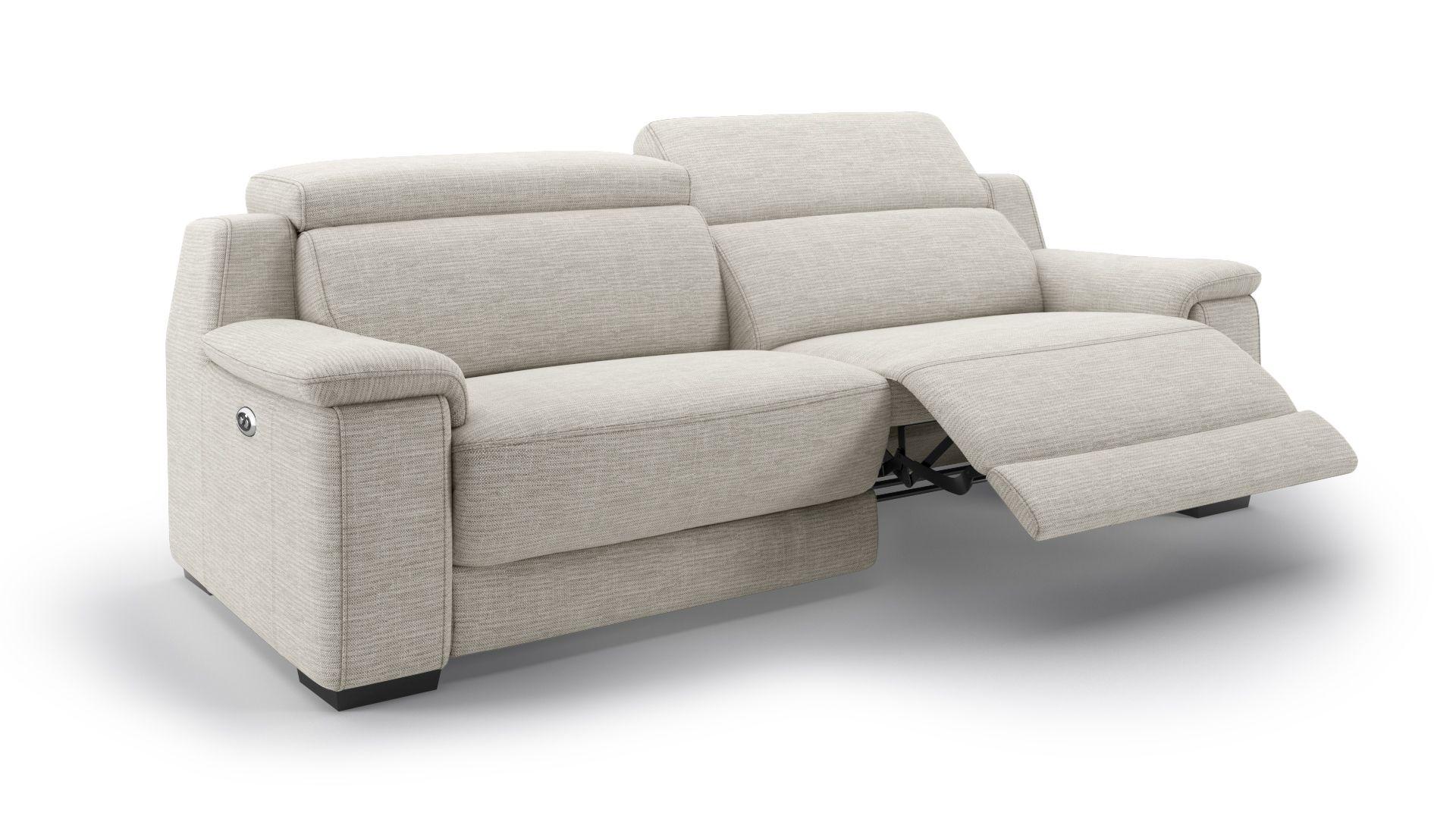 Stoff 3-Sitzer Sofa VALERA