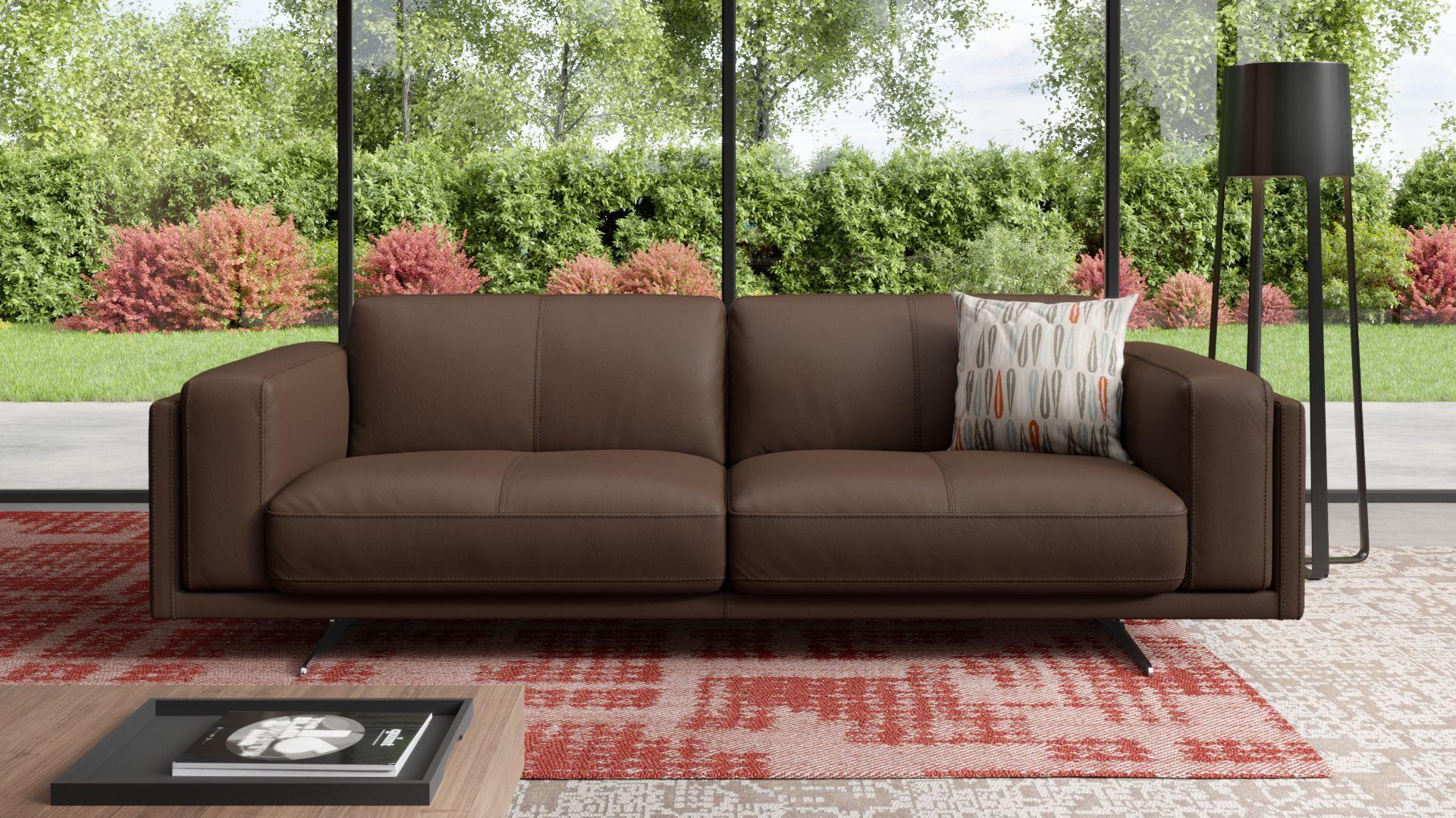 Leder 3-Sitzer Sofa BELLANTE