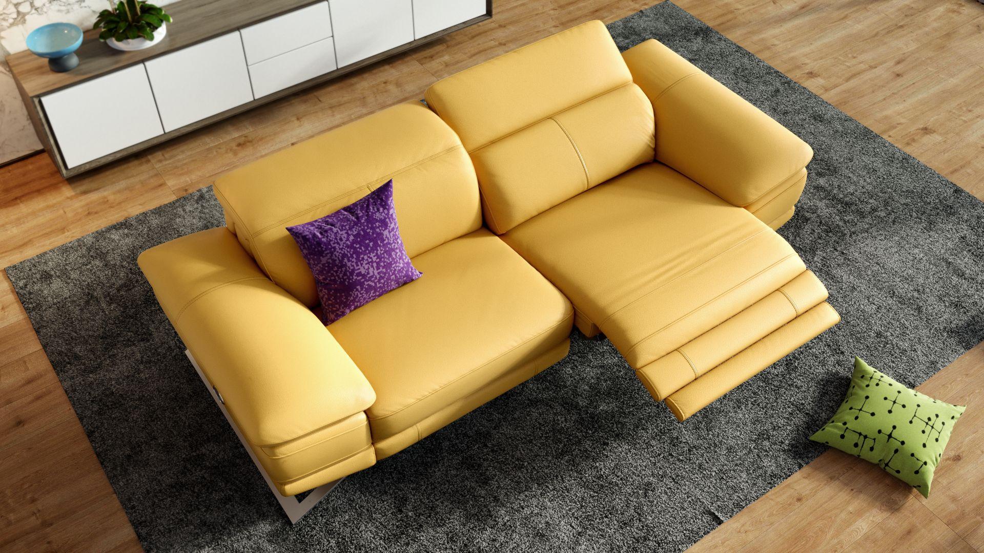 Leder 2-Sitzer Sofa FERRARA