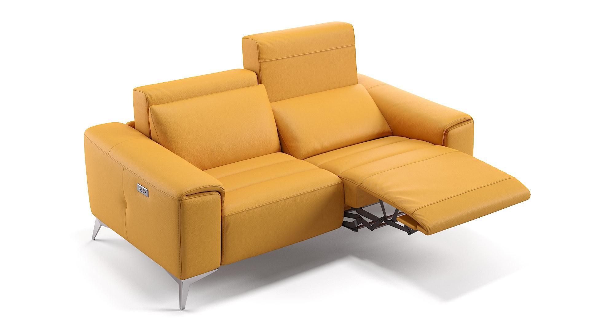 Leder 2-Sitzer Sofa BELLA