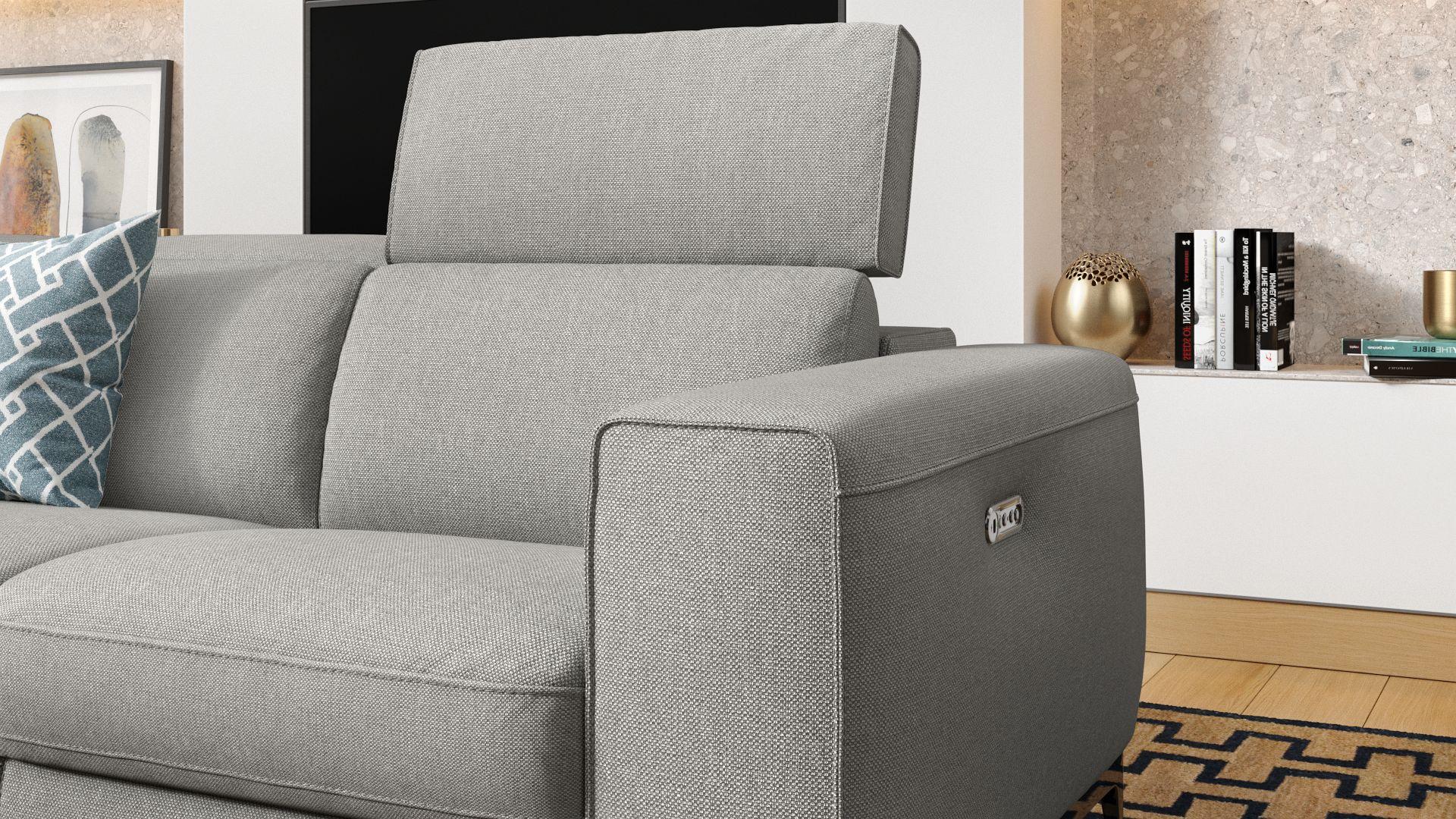 Stoff 3-Sitzer Sofa CUPELLO