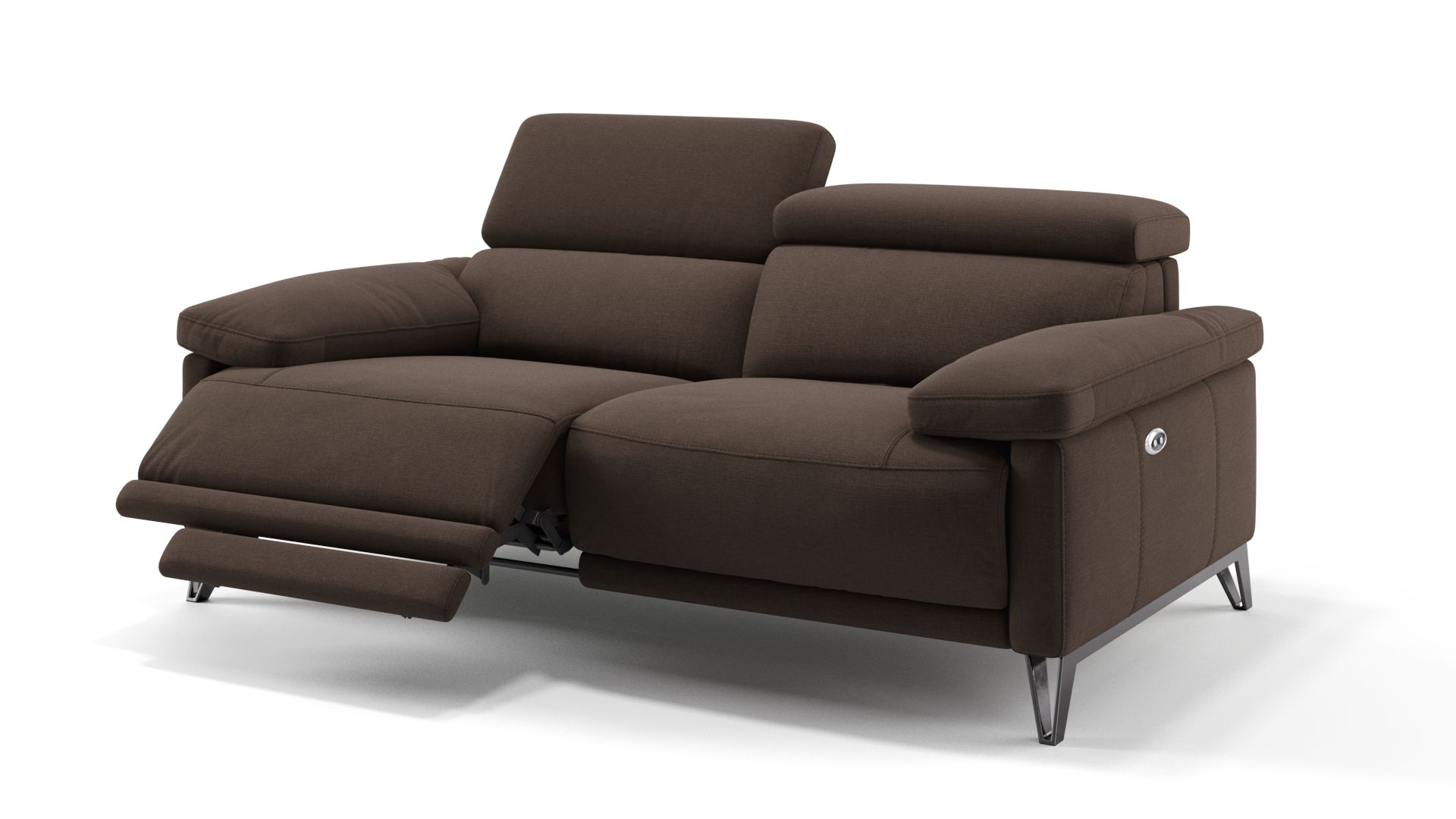 Stoff 2-Sitzer Sofa CELANO