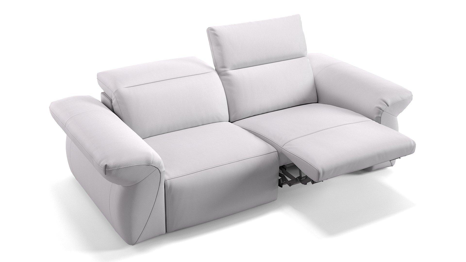 Leder 2-Sitzer Sofa VENEDIG