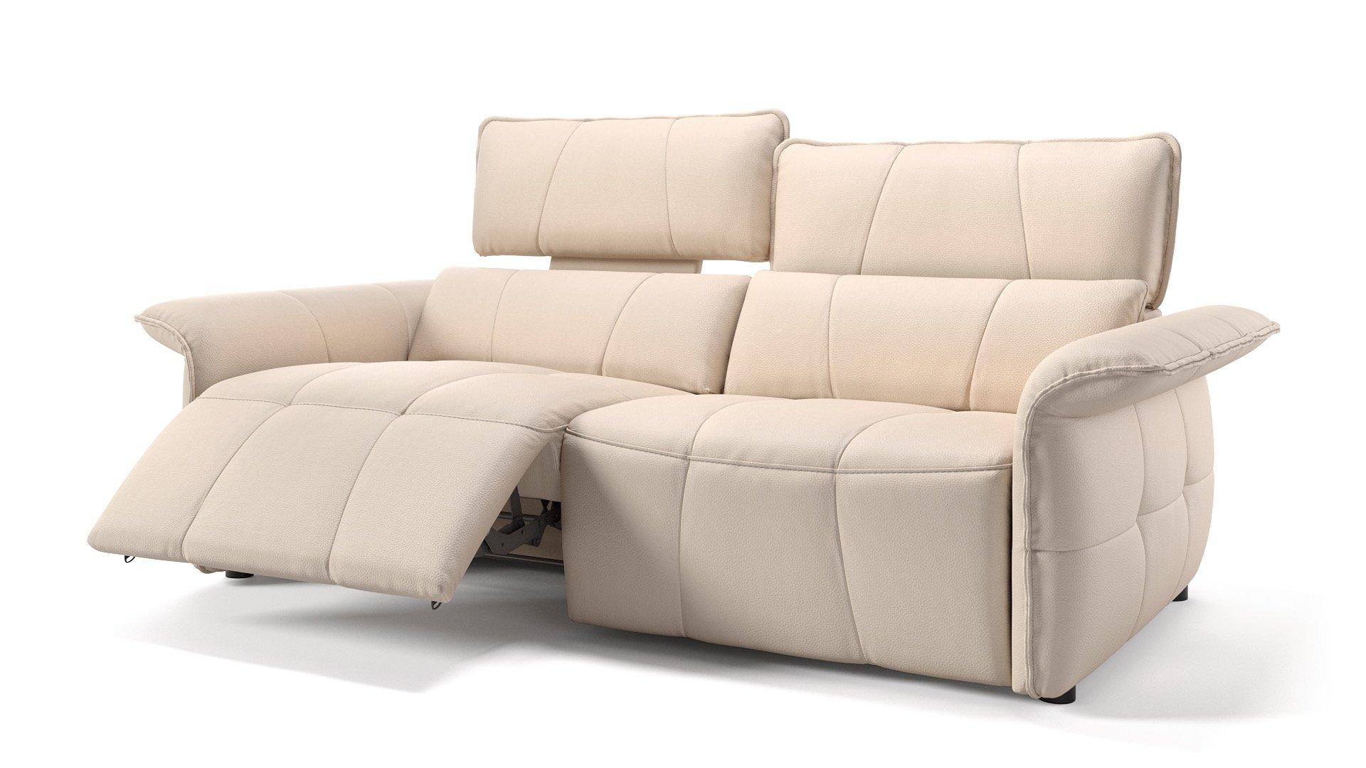 Leder 3-Sitzer ADRIA