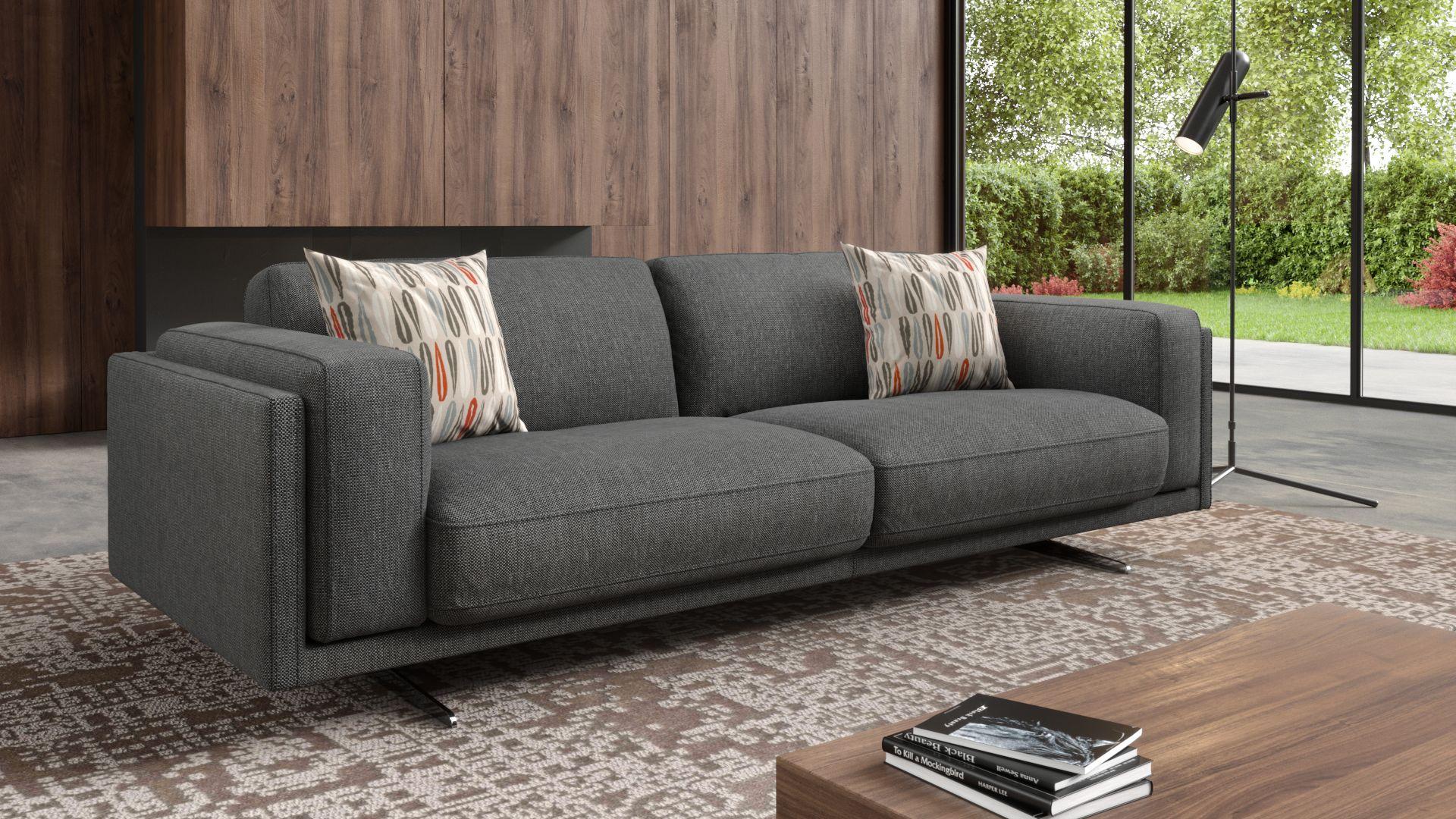 Stoff 3-Sitzer Sofa BELLANTE
