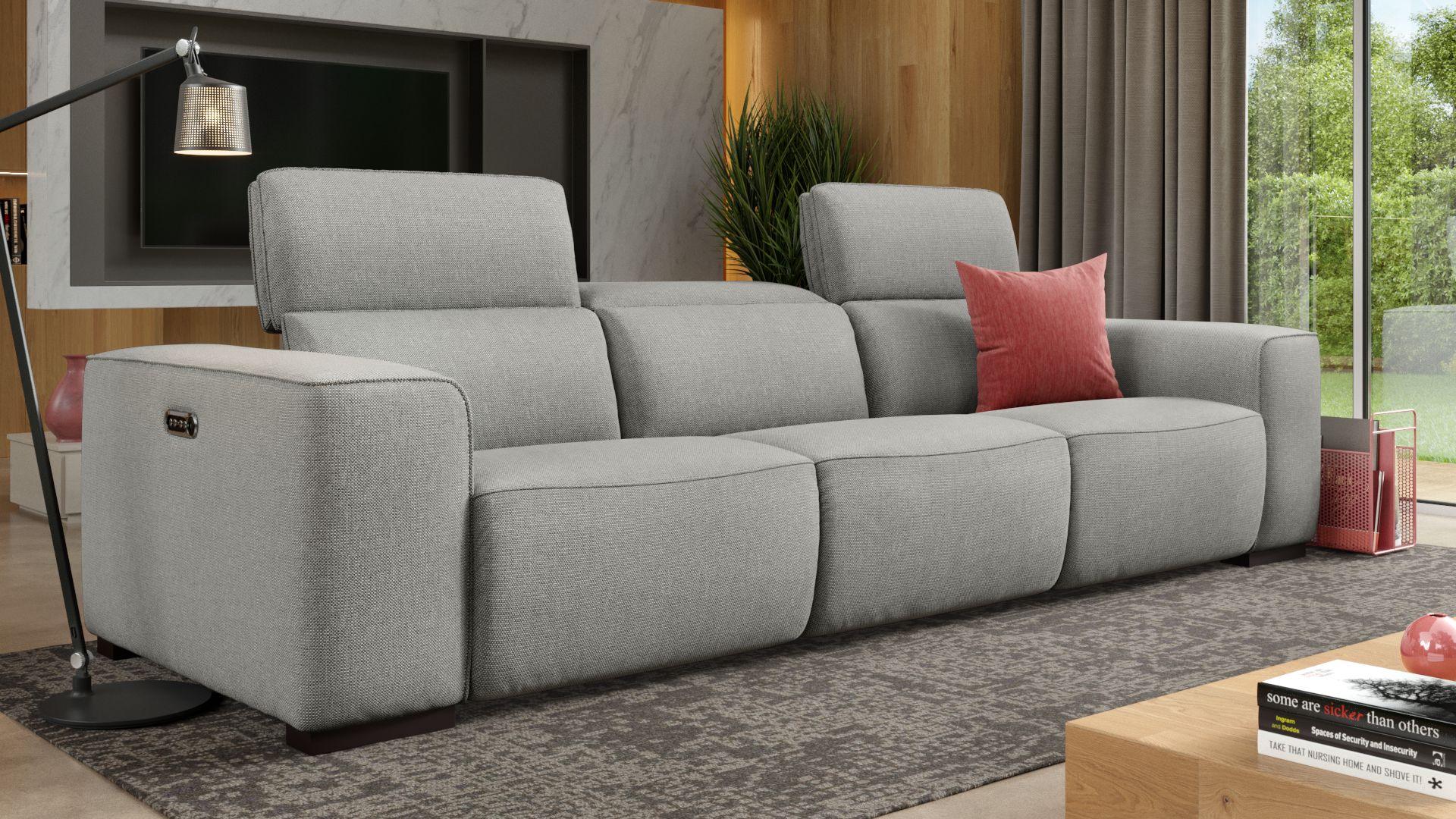 Stoff 3-Sitzer Sofa XXL BINETTO